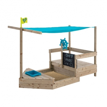 TP Toys Ahoy Wooden Playboat
