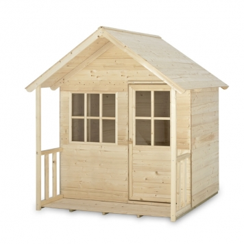 Tp Toys Forest Cabin Wooden Playhouse