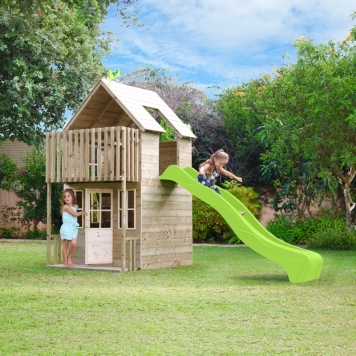 TP Skye Wooden Playhouse & Slide