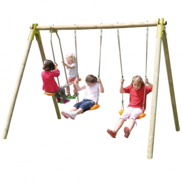 Trigano Jardin Choupy Double Swing and Glider Set