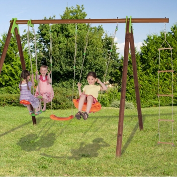 Trigano Jardin Deko Swing and Glider Set