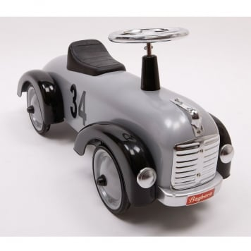 Baghera Speedster Silver Ride On Car