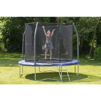 large product image - Jumpking 12ft JumpPOD Deluxe Trampoline Package