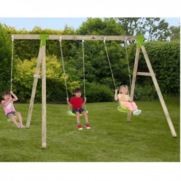 Plum Loris Wooden Swing Set