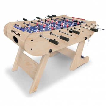 large product image - Riley 4ft Azteca FOLDING Table Football FFT134LN