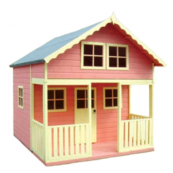 large product image - Shire Lodge Wooden Playhouse