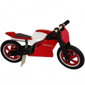 Kiddimoto Red Superbike Balance Bike