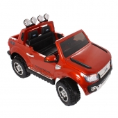 12V Licensed Ford Ranger Ride on Car Orange
