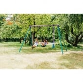 Plum Jupiter Swing Set