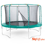 Skyhigh 12ft Plus Trampoline + Safety Enclosure