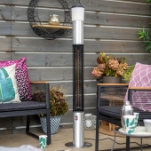 4.5ft Tower Patio Heater with Speaker