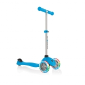 Globber Scooter Primo Lights Sky Blue