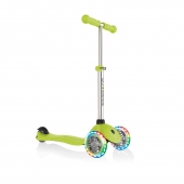 Globber Scooter Primo Lights Lime Green