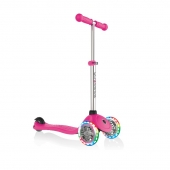 Globber Scooter Primo Lights Neon Pink