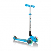 Globber Scooter Primo Foldable Lights Sky Blue