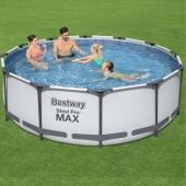 Bestway 12ft x 39.5in Steel Pro MAX Frame Pool Set