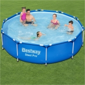 Bestway 10ft x 30in Steel Pro Frame Pool Set