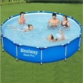 Bestway 12ft x 30in Steel Pro Frame Pool Set