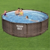 Bestway 12ft x 39.5in Steel Pro Max Deluxe Pool Set