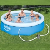 Bestway 10ft Fast Set Pool inc Filter Pump