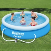 Bestway 12ft Fast Set Pool inc Filter Pump