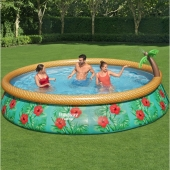 Bestway 15ft x 33in Paradise Palms Fast Set Pool Set