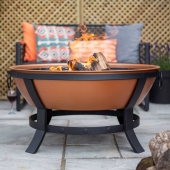 La Hacienda Katori Wood Burning Fire Pit