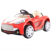 Maserati Style Ride On Car Twin 6V  Red