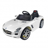 Mercedes SLS Class AMG 6v Ride on Car  White