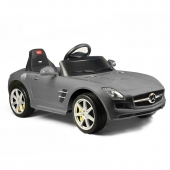 Mercedes SLS Class AMG 6v Ride on Car  Silver