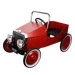 Great Gizmos Classic Red Pedal Car