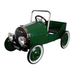 Great Gizmos Classic Green Pedal Car