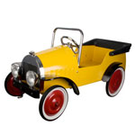 Great Gizmos Classic Yellow Harry Pedal Car