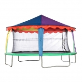 Bazoongi 7ft x 10ft Oval Circus Tent Canopy