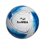 Samba EDU Ball White/Blue/Silver  Size 5