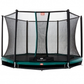 BERG Talent 10ft In-Ground Trampoline and Safety Net Comfort