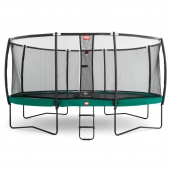 BERG Champion 14ft Trampoline + Safety Net