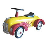 Baghera Speedster Flame Ride On Car
