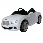 Bentley Continental GT 12v Ride On Car  White