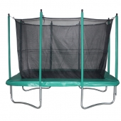 Evostar 10ft x 7ft Rectangular Trampoline and Enclosure