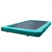 Evostar 9.5ft x 5.8ft Rectangular In-Ground Trampoline