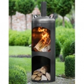 Faro Wood Burning Garden Stove