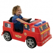 Fireman Sam 6V Battery Operated Jupiter Ride On