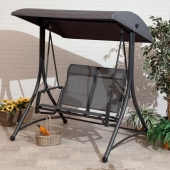 Havana 2 Seater Charcoal Swing Seat