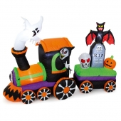 2m Inflatable Halloween Train