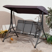 Havana 3 Seater Charcoal Swing Seat