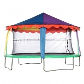 Bazoongi 14ft x 17ft Oval Circus Tent Canopy