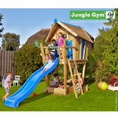 Jungle Gym Crazy Playhouse Grow with Me XL inc Timber and Slide