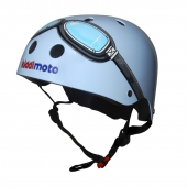 Kiddimoto Blue Goggle Small Helmet