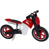 Kiddimoto Red Scrambler Balance Bike